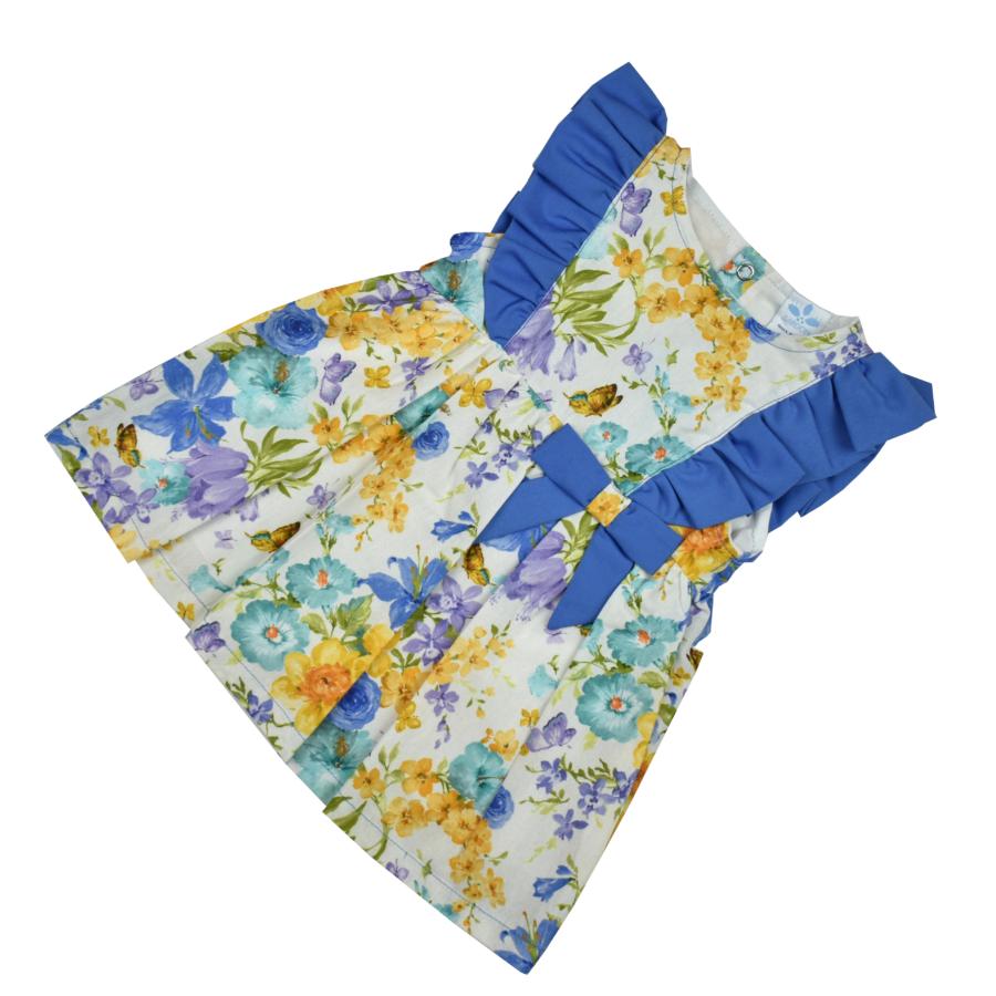 LUARCITA virágos-lepkés kislány ruha
