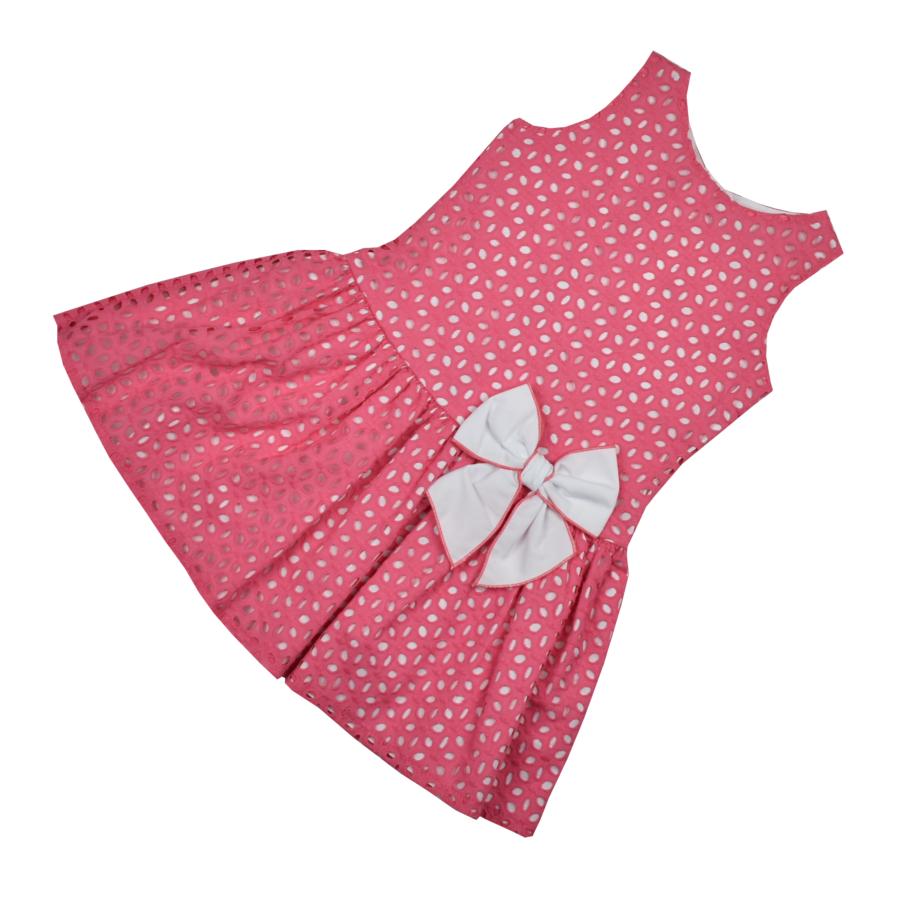 Amara kislány ruha masnival