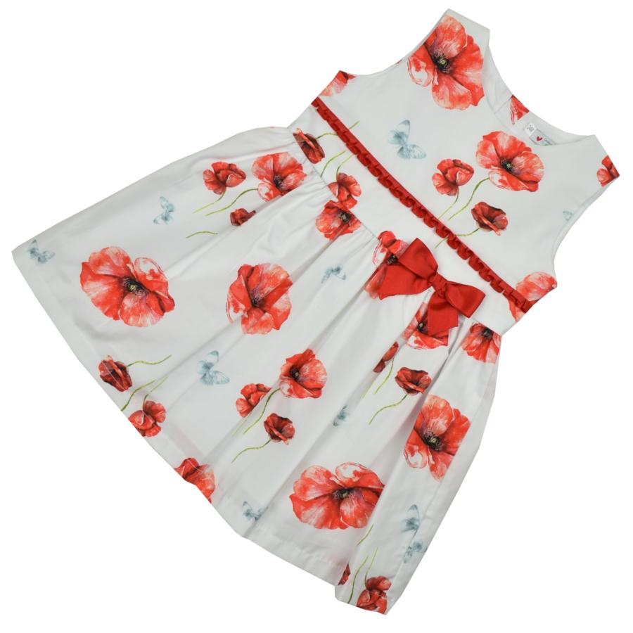 Amapola kislány ruha masnival