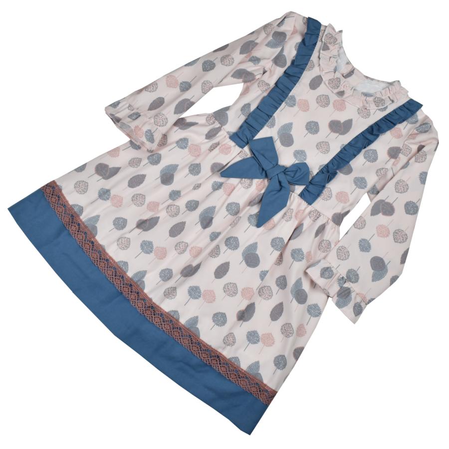 Leticia  masnis kék ruha csipke rátéttel