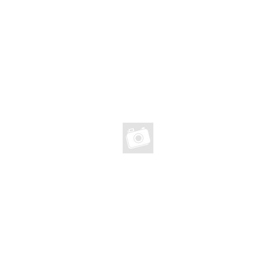 LUNA sötétkék alkalmi mübőr pomponos pántos cipő