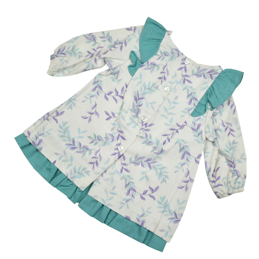 PONTEVEDRA hosszú ujjú kislány ruha