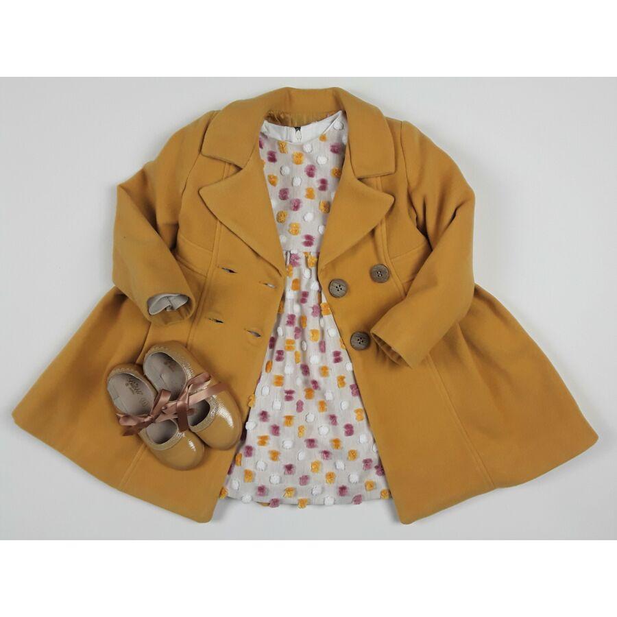 Laya színes pomponos lány ruha