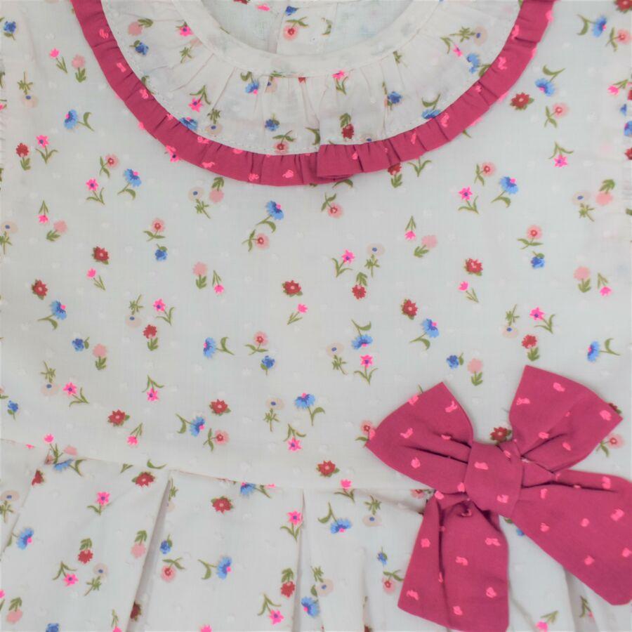 Emiliana virágos masnis ruha